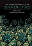 A Companion to Hermeneutics