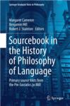 Sourcebook in the History of Philosophy of Language